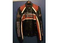 Harley Davidson Leather Motorcycle Jacket