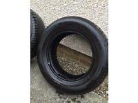 Used half worn tyres