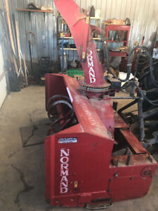 Snowblower for tractor/Souffleuse pour tractor