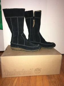 Womens Timberland Winter Boots - Black
