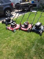 Mower/weedeater/chainsaw etc. tune ups  $25-50