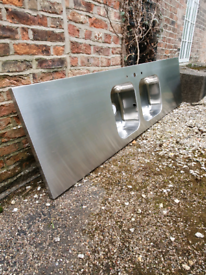For sale 1 x industrial sink top (bare unit)