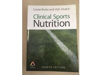 Clinical sports nutrition book for university for sale. Perfect condition