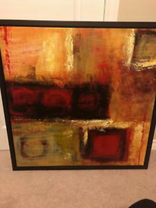 Home Decor - Framed Art on canvas