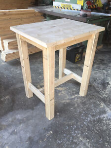 hand crafted softwood tables Stratford Kitchener Area image 9