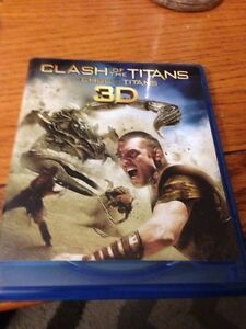 Clash of the Titans 3D blu ray