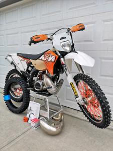 2011 KTM 200 XC-W Rare/Freshly Rebuilt Bike!