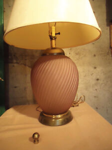 HAND PAINTED JAPANESE STYLE TABLE LAMP & OTHER TABLE LAMPS West Island Greater Montréal image 7