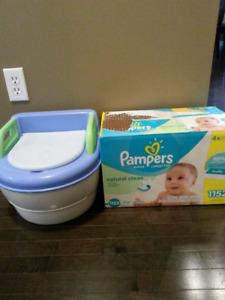 Potty & wipes refills