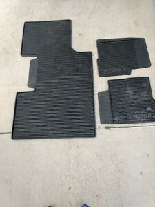 F150 2014 Ford Factory Winter Matts (Rubber)