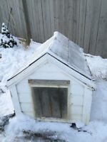 Insulated dog housr