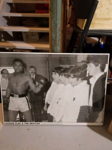 Cassius Clay and Beatles Picture