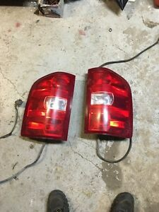 Gmc or chevy tail lights 07-14