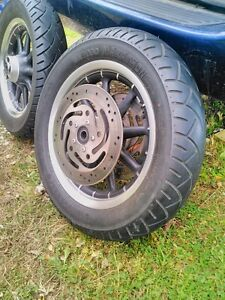 HARLEY DAVIDSON ROAD KING ULTRA WHEELS WITH TIRES AND ROTORS Windsor Region Ontario image 7