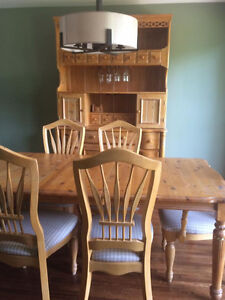 *** BEAUTIFUL SET : DINER BAR CABINET + TABLE + CHAIRS ***