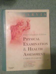 physical examination and health assessment 1 ed JARVIS
