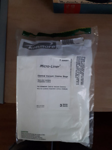 Kenmore Central Vacuum Bags