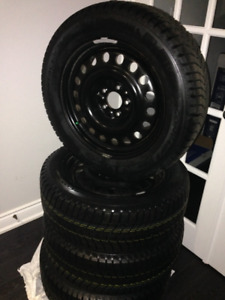 winter tires and rims brand new