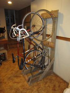 Custom Bike storage rack