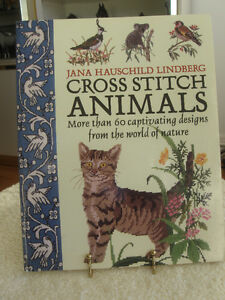 '90's VINTAGE ANIMAL CROSS STITCH DESIGNS by LINDBERG