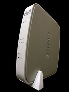 BELL WHITE WIFI MODEM THE BEST $65