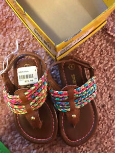 Toddler size 6 Sandals BNWT
