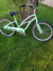 "24""wheel step through unisex electra cruiser bicycle"