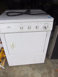 Apartment Size Kenmore Dryer 220 V
