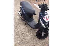 Piaggio zip 70cc 2014 plate