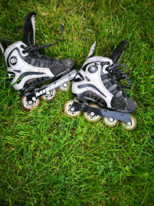Youth large or size 4 Mission Roller blades.