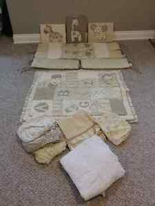 Nuteral bedding set for crib