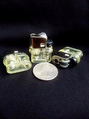 Small Mini Lighter Flint Wheel 3 Piece Ebay Lighters