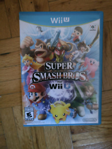 Super Smash Bros Wii U  Nintendo - $35