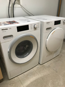 New Miele washer and dryer set!!