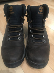 Men's leather Timberland hiking boots