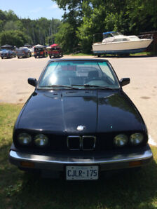 1987 BMW 325i Cabriolet looking for its next adventure