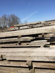 Barn beams and lumber for sale