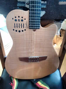 Godin Nylon-string/classical electric w/synth access