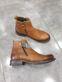 Firetrap Brand Tan Leather Boots size 6