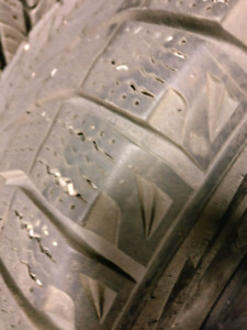 Set of 235/45R17 on Rims Winter Tires Michelin X-ice $750