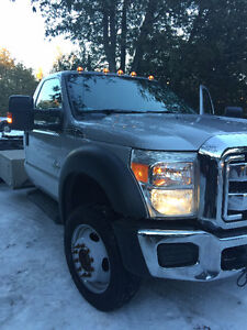 2011 FORD F550 SUPER DUTY LIFT TRUCK
