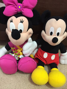 Mickey mouse and minnie mouse doll Cambridge Kitchener Area image 1