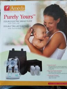 Ameda - Double Electric Breast Pump - Gently Used - $160