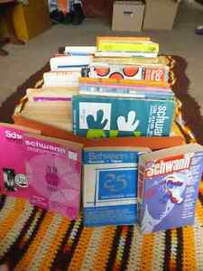 Schwann LP Record Catalogs 1964-1984