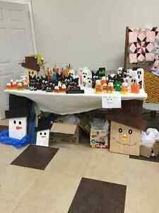 Halloween/fall Decor. (Linkletter flea market)