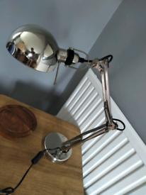 lamp on stand