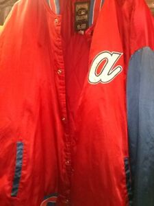 ATLANTA BRAVES MLB COOPERSTOWN COLLECTION JACKET 4-5 XL