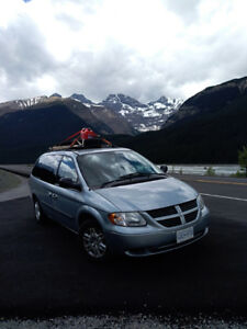Dodge Grand Caravan, 2005 modified camper van for sale!