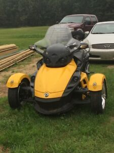 2008 Canam Spyder - with many upgrades