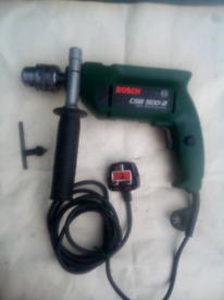 Electric Bosch hammer drill good condition